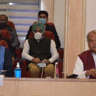 Narendra Singh Tomar and Piyush Goyal,